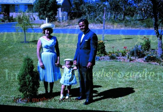 Dorothy, Brenda, Joe Croft 1965 Image