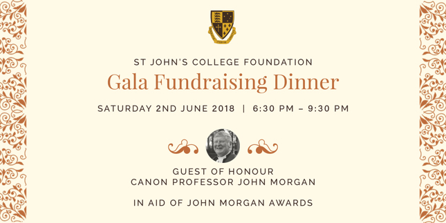 Gala Fundraising Dinner Header Image