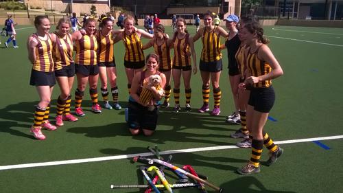 St John's College Women's Hockey Premiers 2018 Image